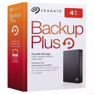 SEGATE 4TB BACKUP PLUS